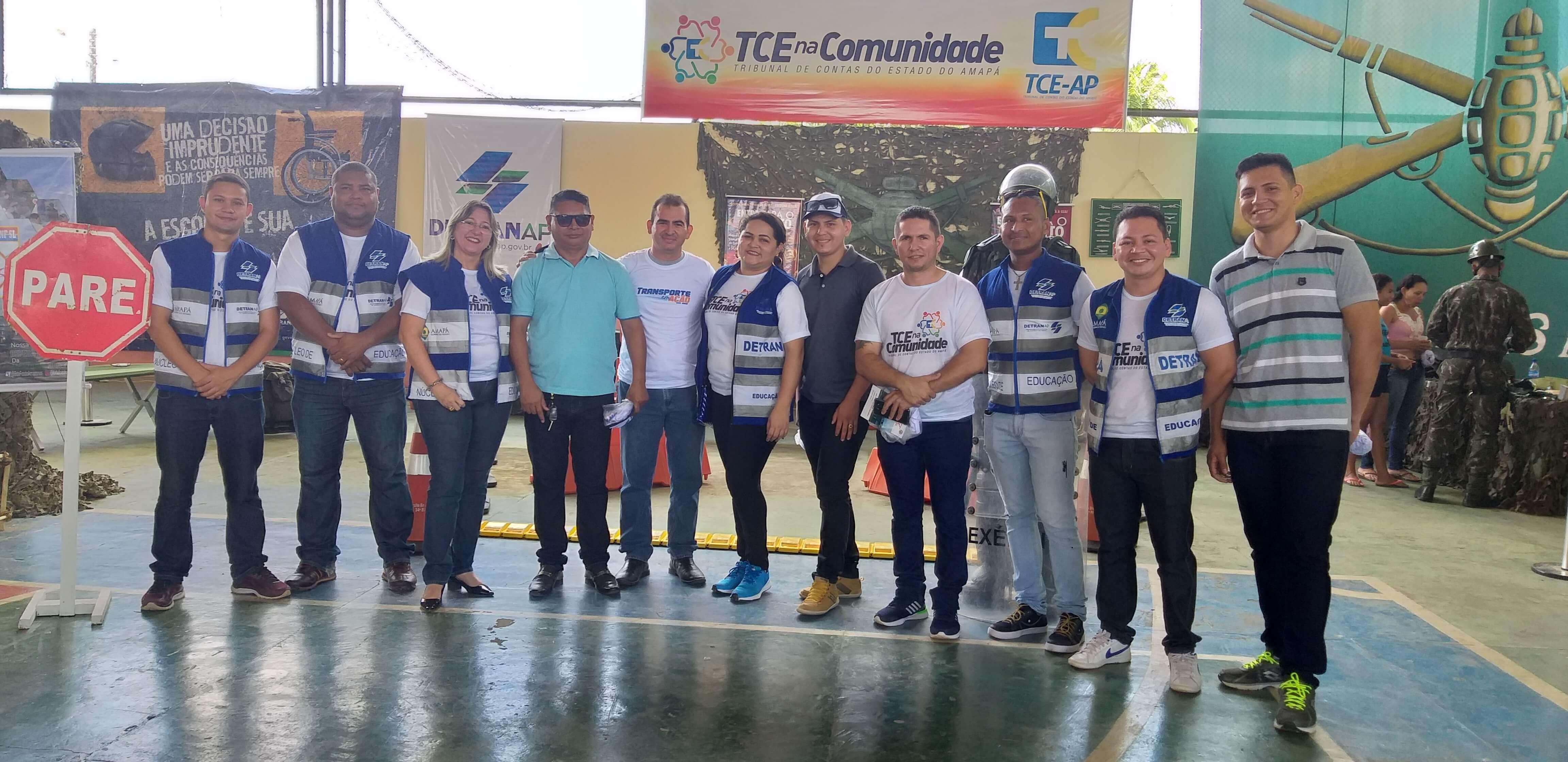 Detran e TCE na Comunidade no município de Porto Grande